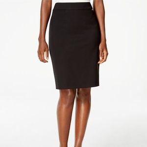 Elie TahariBlack Pencil Skirt Size 10